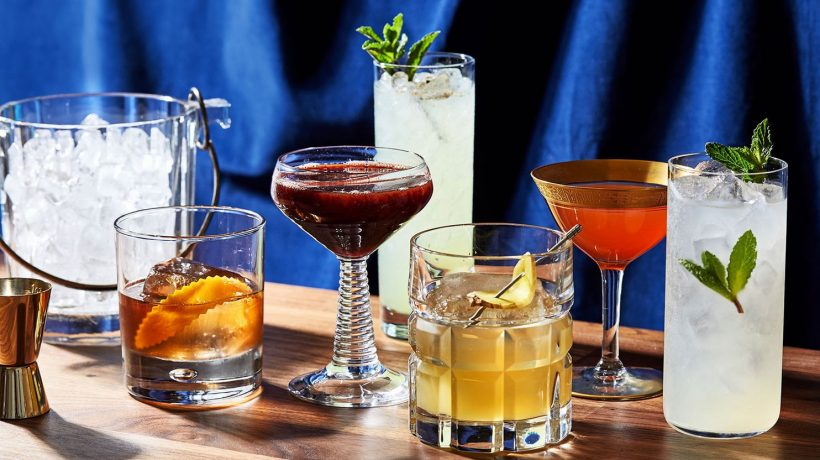 Four Most Influential Cocktails of All Time & Their Recipes