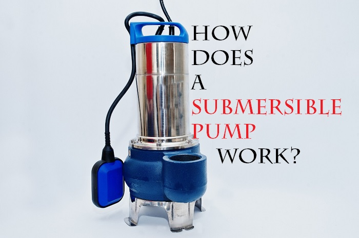 How does a submersible pump work