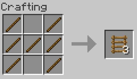 How To Make Ladders In Minecraft