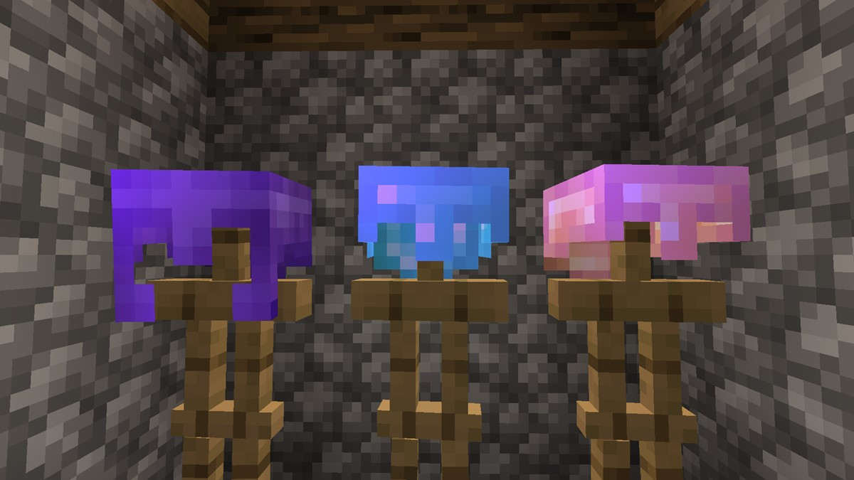 How to make a helmet in minecraft