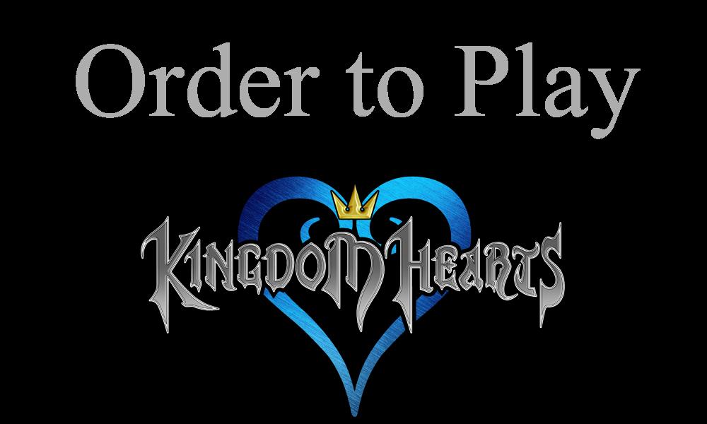 Kingdom hearts play order